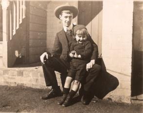 Norman Lindsay with Jack Lindsay