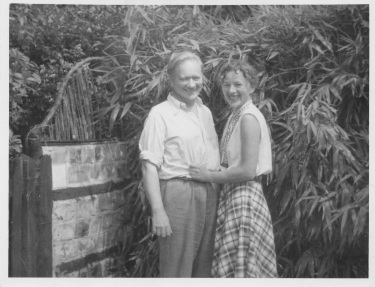 Jack Lindsay and Meta in 1956