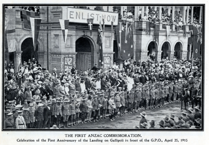 ANZAC Commemoration 1916