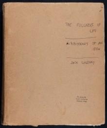 Jack Lindsay Fullness of Life Cover Image