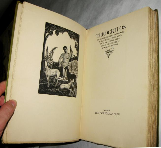Theocritus by Jack Lindsay