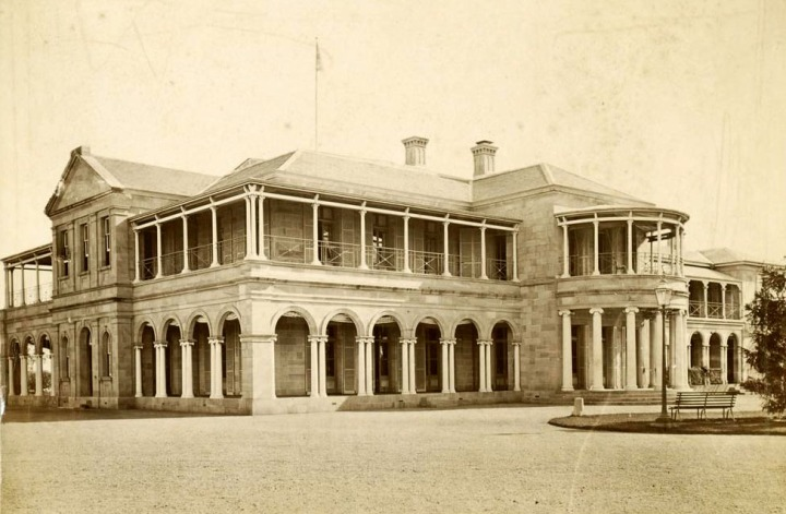 Old Government House Brisbane 1879