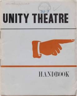Unity Theatre Handbook Cover
