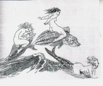 Norman Lindsay Illustration from Vision: A Literary Quarterly