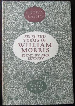 William Morris poems ed JL